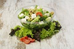 Fresh salad. Close up of healthy salad Stock Image