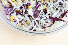 Fresh salad and corn Stock Photography