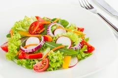 Fresh salad. A dish with fresh salad Royalty Free Stock Photography