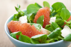Fresh salad with grapefruit Stock Images