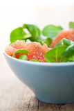 Fresh salad with grapefruit Royalty Free Stock Photography