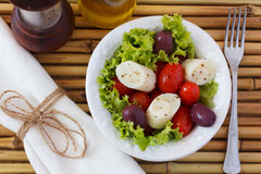 Fresh salad of heart of palm (palmito) Stock Photography