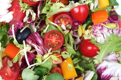 Fresh salad mix #2 Royalty Free Stock Photos