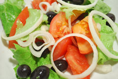 Fresh salad mix Royalty Free Stock Images