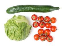 Fresh salad mix Stock Image