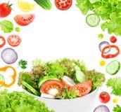 Fresh salad Royalty Free Stock Photo