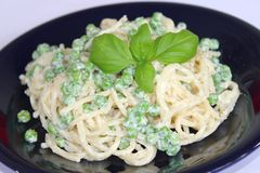 Fresh salad of noodles Royalty Free Stock Photo