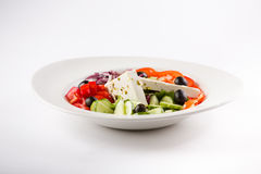 Fresh salad. With olive oil and oregano Stock Images