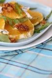 Fresh salad with oranges Royalty Free Stock Photo