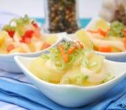 Fresh salad of potatoes Royalty Free Stock Image