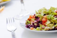 Fresh salad prepared Stock Photos