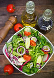 Fresh salad on the table Royalty Free Stock Photography