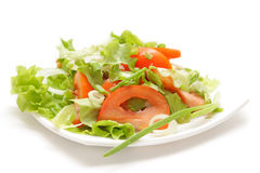 Fresh salad with tomato Stock Images