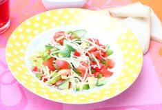 Fresh salad Stock Photography