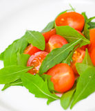 Fresh salad with tomatoes and rucola Stock Photography