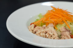 Fresh salad with tuna Royalty Free Stock Images
