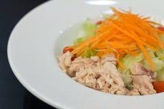 Fresh salad with tuna Royalty Free Stock Photo