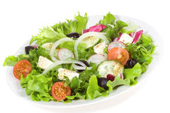 Fresh salad with vegetables Stock Photo