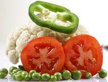 Fresh salad vegetables Royalty Free Stock Photo