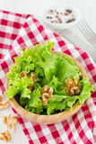 Fresh salad with walnut Royalty Free Stock Images