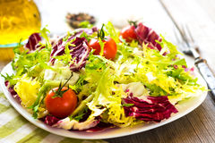 Fresh salad Royalty Free Stock Images