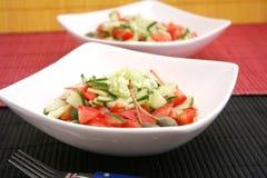 Fresh salads Stock Images