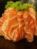 Fresh salmon sashimi Royalty Free Stock Image