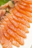 Fresh salmon stock photography