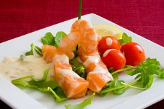 Fresh salmon Stock Images