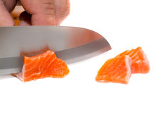 Fresh salmon Stock Image