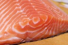 Fresh salmon fillet close up Royalty Free Stock Image