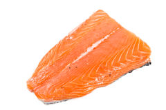 Fresh salmon fillet Royalty Free Stock Images