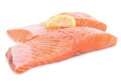 Fresh salmon isolated Royalty Free Stock Photos
