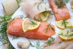 fresh salmon Stock Photos