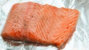 Fresh salmon Royalty Free Stock Photo