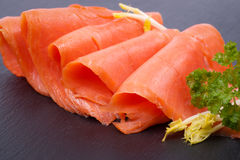 Fresh salmon Stock Photos