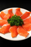 Fresh Salmon Slice Royalty Free Stock Images