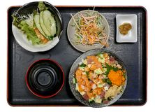 Free Fresh Salmon Slide Sashimi. Raw Salmon In Focus Selective Royalty Free Stock Photography - 161564187
