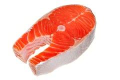 Fresh salmon steak Stock Images