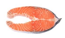 Fresh salmon steak. Stock Photography