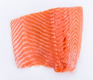 Fresh salmon steak Royalty Free Stock Images