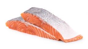 Fresh salmon steaks Stock Image