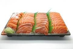 Fresh salmon sushi Stock Photos