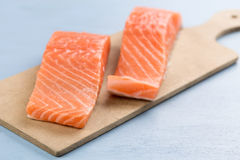 Fresh salmon Royalty Free Stock Image
