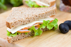 Fresh sandwich Stock Images