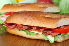 Fresh sandwich Royalty Free Stock Photo