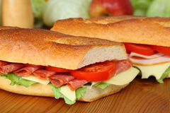Fresh sandwich royalty free stock photography