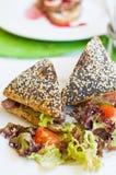 Fresh sandwich Stock Photography