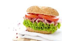 Fresh sandwich Royalty Free Stock Photo