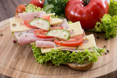 Fresh Sandwich Royalty Free Stock Images